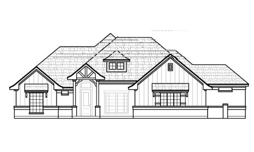103 Lakota Front Elevation
