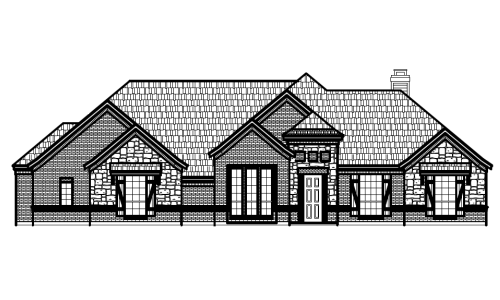1036 Paradise Parkway Front Elevation