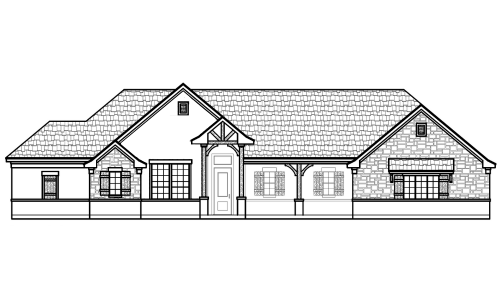 1061 Paradise Parkway Front Elevation