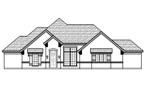 157 Clayton Crossing Front Elevation