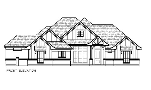 3016 Robertson Bend Front elevation