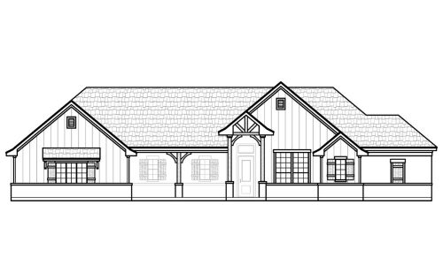 6947 Veal Station Front Elevation