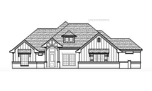 7077 Veal Station Road Front Elevation
