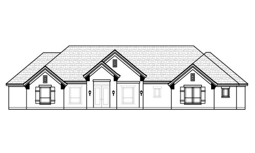 7081 Veal Station Road Front Elevation